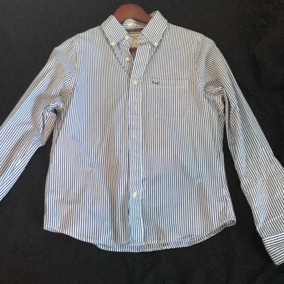 Abercrombie & Fitch Other - Abercrombie & Fitch Blue Striped Button Up